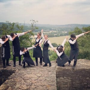 Das Team der Burg Blankenstein