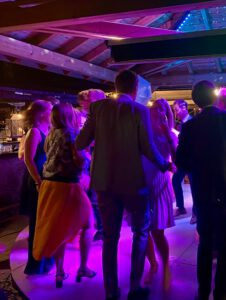 Tanzen auf der Firmenfeier
