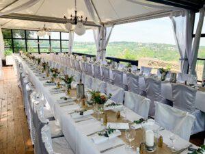 Hochzeit mit Ausblick