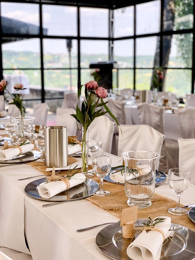 Hochzeitslocation Hattingen - elegant dekoriert