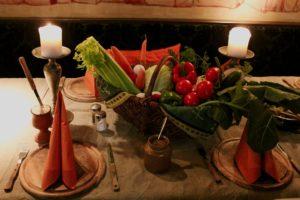 Frischer Gemüsekorb