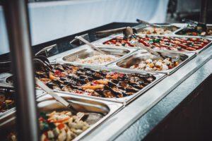 Frisches Salatbuffet