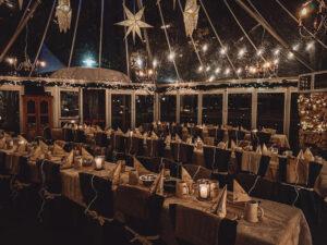 Der weihnachtliche Pavillon